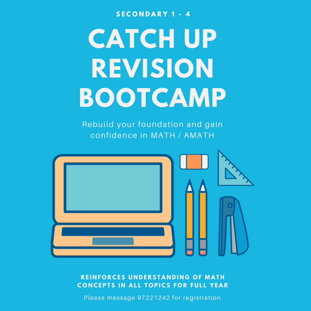 secondary school math revision bootcamp